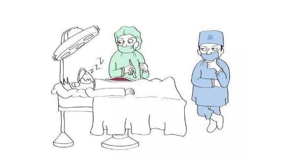 儿童鞘膜积液打麻药打哪